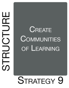 Strategy 9: Create Communities of Learning